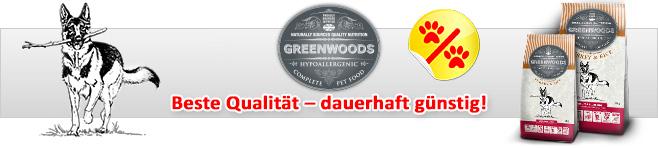 greenwoods hundefutter test
