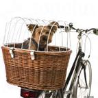 Velokorb und Veloleine für Hunde
